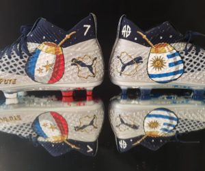 Le maté à l'honneur sur les chaussures Puma de Griezmann pour France – Uruguay