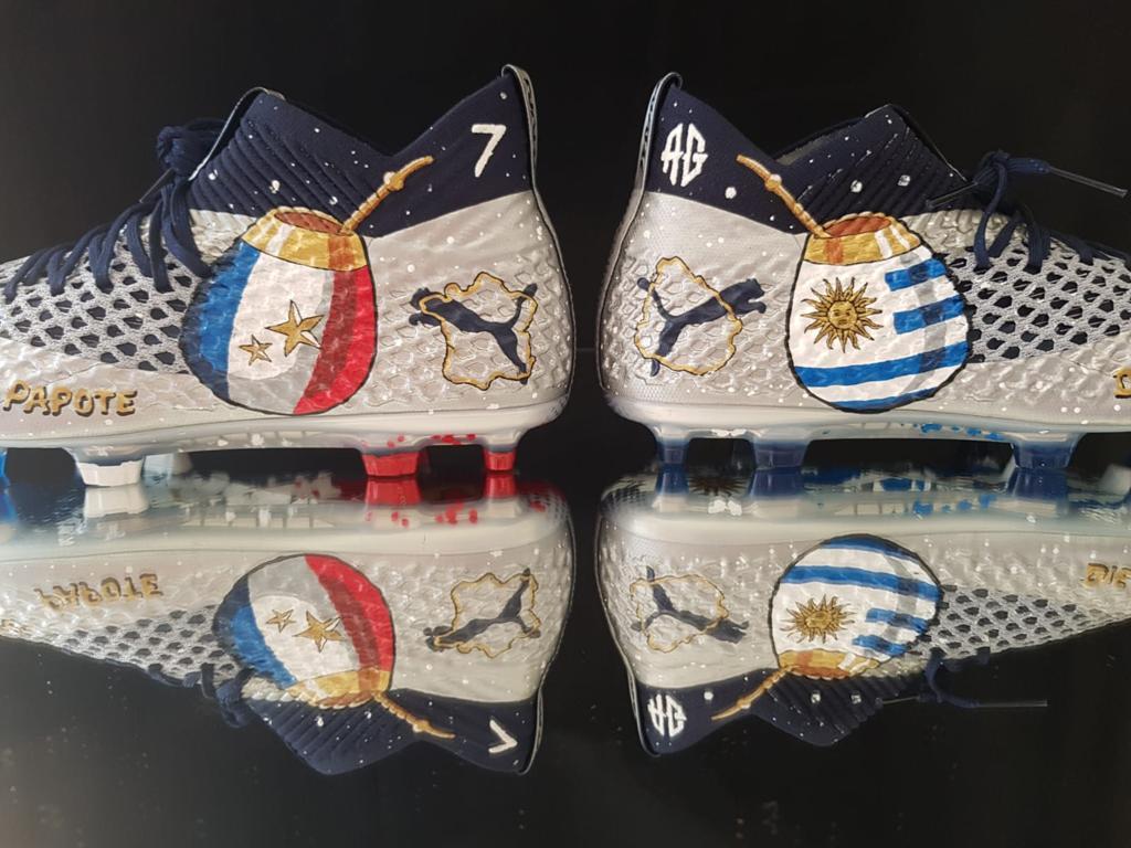 Le maté à l'honneur sur les chaussures Puma de Griezmann