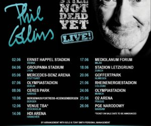 Phil Collins au Groupama Stadium pour son unique date en France en 2019