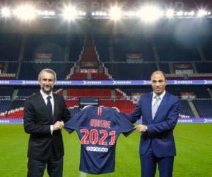 Hubside nouveau partenaire du Paris Saint-Germain