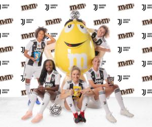 Foot Féminin – m&m's nouveau sponsor maillot de la Juventus