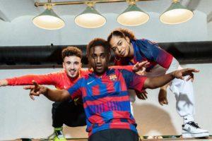 Nike et le FC Barcelone dévoilent un maillot «mash-up» célébrant les 20 ans de partenariat
