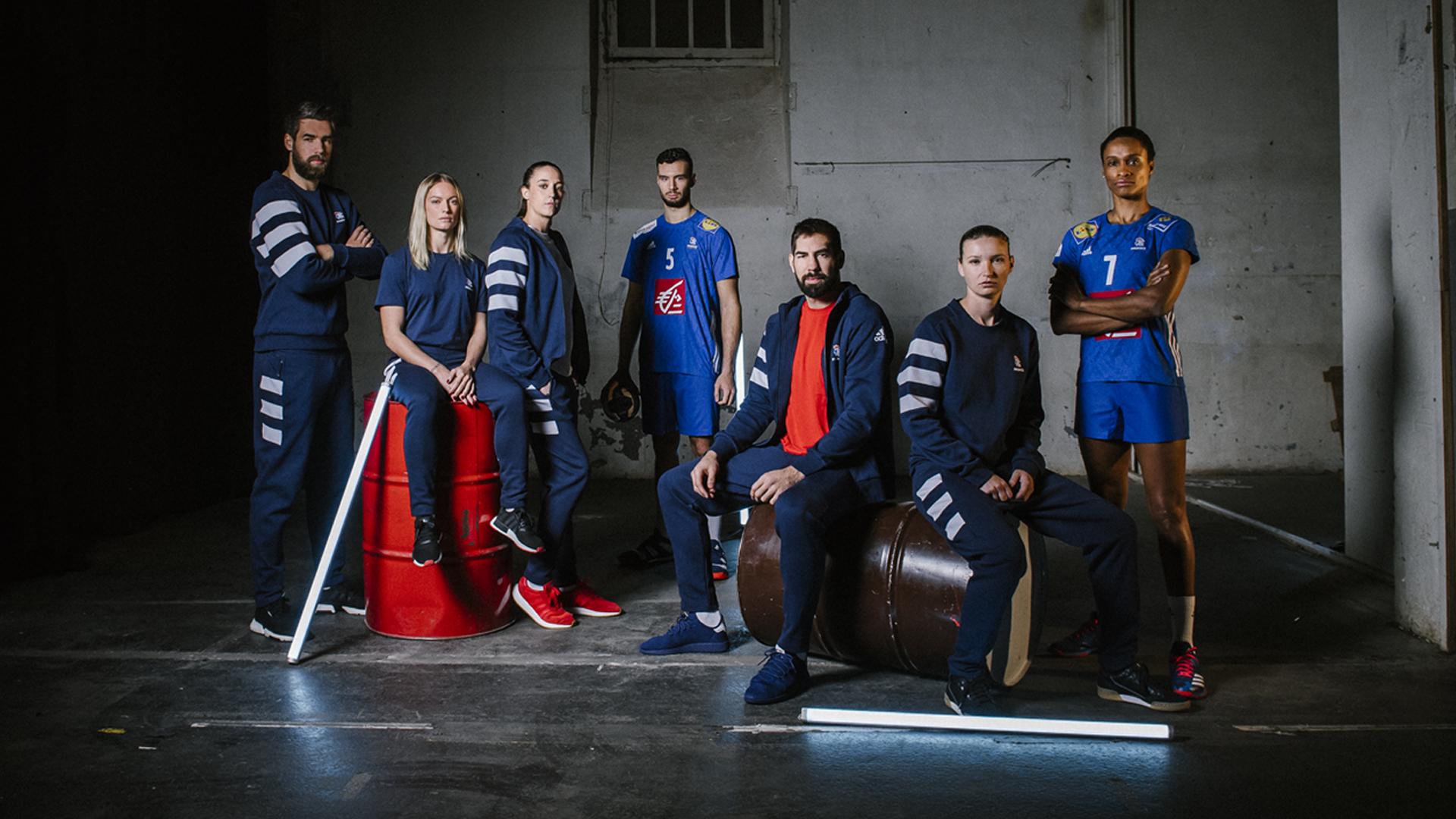 adidas performance veste de survêtement officielle équipe de france