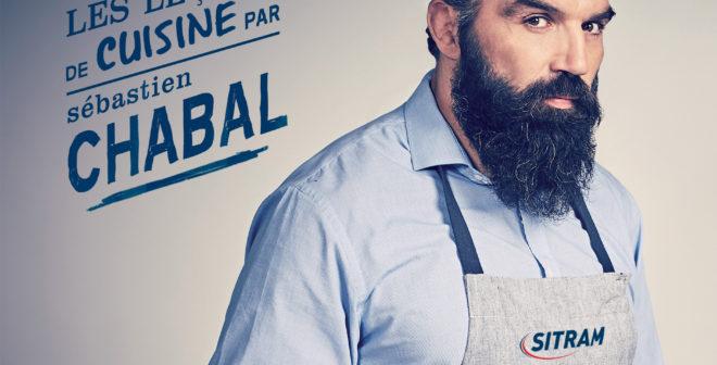 Les ustensiles de cuisson Sitram s'offrent l'image de Sébastien Chabal