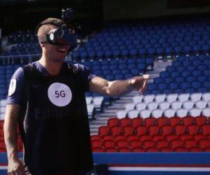 Activation – Ericsson met en scène les joueurs du PSG pour valoriser la 5G