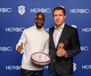 Heroic Sport poursuit sa stratégie sponsoring en signant avec le Stade Francais Paris