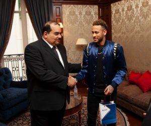 Neymar JR signe un contrat de partenariat avec Qatar National Bank (QNB)