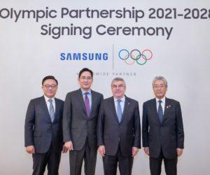 Samsung prolonge son partenariat avec les Jeux Olympiques jusqu'au moins 2028