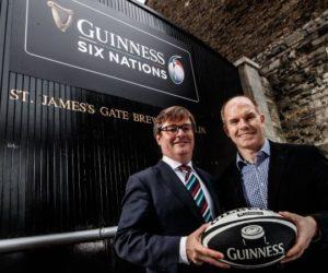 Guinness nouveau partenaire-titre du Tournoi des 6 Nations jusqu'en 2024