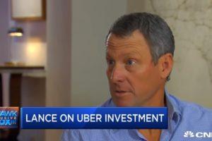 Le jackpot pour Lance Armstrong grâce à l'application Uber ?