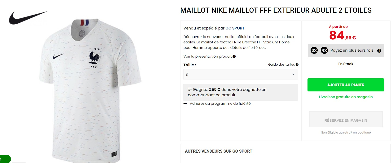 exquisite style new list great look Quelques maillots 2 étoiles Nike de l'Equipe de France de ...