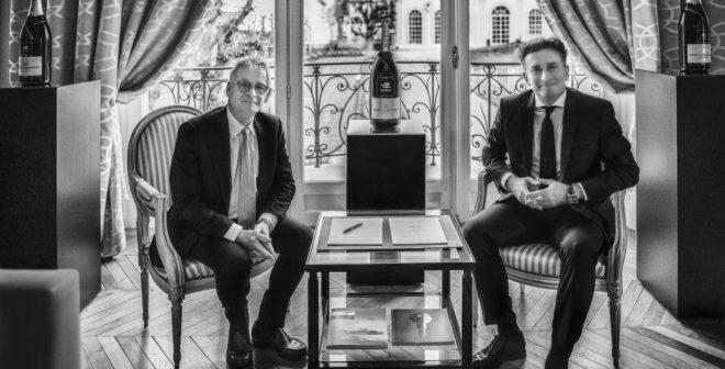 Moët et Chandon nouveau champagne de la Formula E