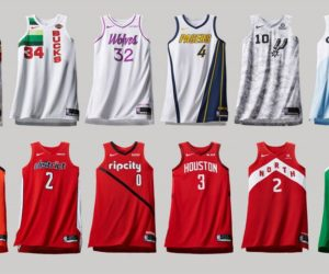 Nike dévoile 16 maillots « NBA Earned Edition »