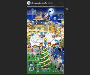 L'OM et Boulanger lancent un calendrier de l'Avent un peu spécial sur Instagram et Snapchat