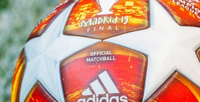 adidas présente le ballon officiel «Madrid Finale19» de la phase finale de l'UEFA Champions League 2018-2019
