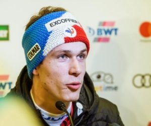 Avec le skieur Clément Noël,son sponsor Excoffier a «misé sur le bon cheval»