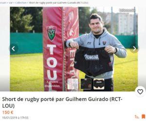 Leboncoin active son partenariat avec le Rugby Club Toulonnais avec la mise en vente d'objets de joueurs