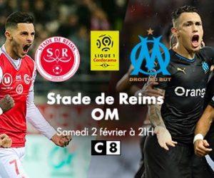 TV – Reims / OM diffusé en clair sur C8 samedi à 21h