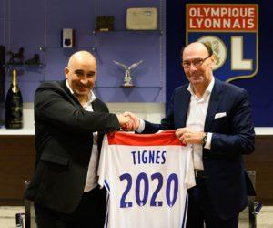 Tignes signe un partenariat de 2 ans avec l'Olympique Lyonnais et devient station sportive officielle