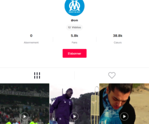 Social Media – L'Olympique de Marseille annonce son arrivée sur l'application TikTok