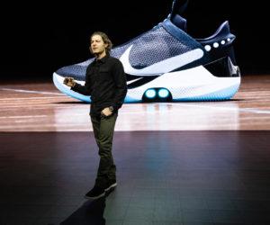 Basket– Nike dévoile sa nouvelle chaussure auto-laçante et connectée avec la «Nike Adapt BB» (350€)