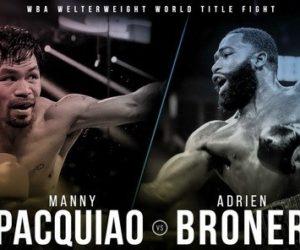 TV – Le combat Pacquiao / Broner en direct en exclusivité sur Canal+ dans la nuit du 19 au 20 janvier