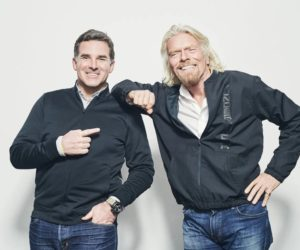 Under Armour s'associe au projet spatial Virgin Galactic de Sir Richard Branson