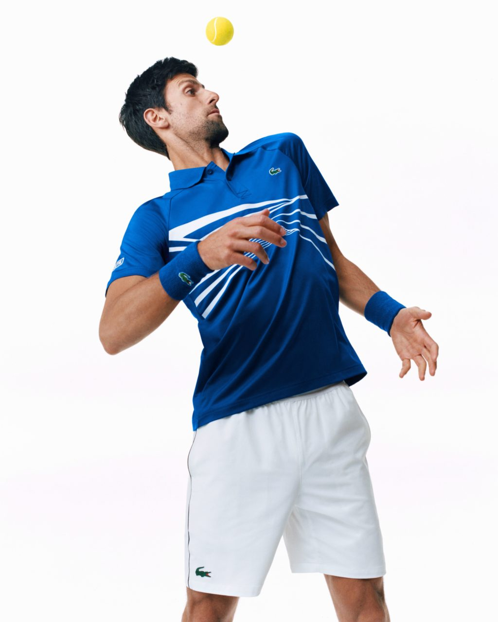 b61bd5a24e Les tenues Lacoste de Novak Djokovic, Pierre-Hugues Herbert, Jérémy ...