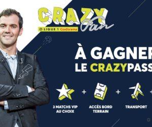 La Ligue 1 Conforama cherche son «CrazyFan» 2019 avec l'émission J+1