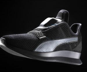 Puma va aussi lancer une chaussure auto-laçante et connectée