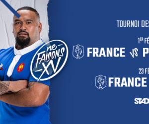 Tournoi des 6 Nations 2019: Le prix des places pour les 2 matchs du XV de France au Stade de France