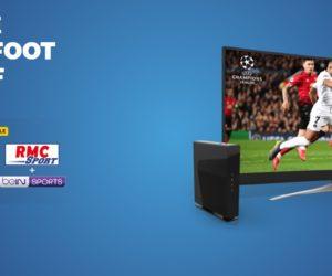 Bon Plan : La Box fibre SFR + RMC Sport + beIN SPORTS à 22€ par mois pendant un an !
