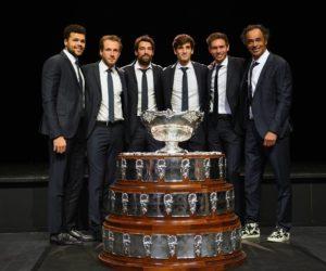 Une malle Louis Vuitton pour le trophée de la Coupe Davis