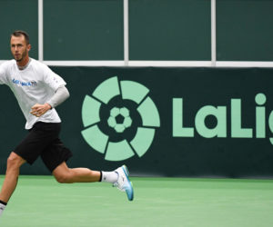 La Ligue de foot espagnol «LaLiga» nouveau sponsor de la Coupe Davis de tennis