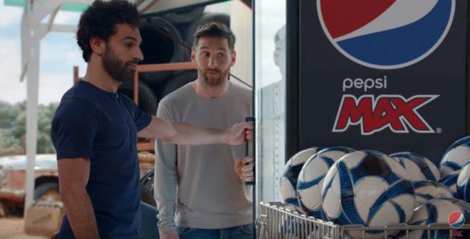 Pepsi met en scène Lionel Messi et Mohamed Salah dans sa publicité «The Last Can Standing»