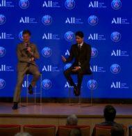 Retour sur la conférence de presse du partenariat maillot entre le PSG et ALL (Accor)