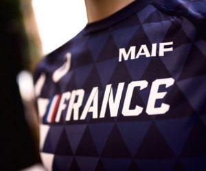 La MAIF soigne sa présence sur le maillot de l'Equipe de France d'Athlétisme