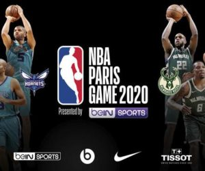 beIN SPORTS Partenaire-Titre du NBA Paris Game 2020