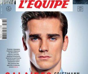 Les sportifs français qui ont gagné le plus d'argent en 2018 (classement Magazine L'Equipe)