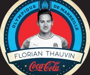 Activation – Coca-Cola lance des dessous de verre à l'effigie des joueurs de l'OM