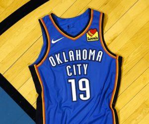 NBA – Love's nouveau sponsor maillot d'Oklahoma City Thunder