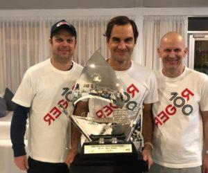 Tennis – Comment les sponsors de Roger Federer ont célébré son 100ème titre