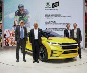 Skoda partenaire majeur du Tour de France et sponsor du Maillot Vert jusqu'au moins 2023