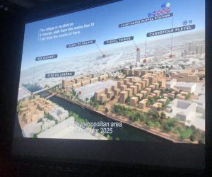 Jeux Olympiques – L'Etat lance la vente des terrains qui accueilleront le Village Olympique de Paris 2024