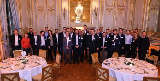 Le nouveau réseau «109 network» réunit une trentaine de professionnels du sport business pour son premier dîner