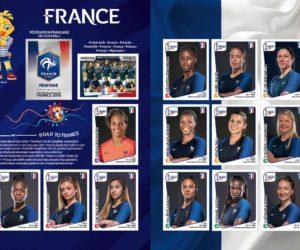 Panini présente son album dédié à la Coupe du Monde Féminine de la FIFA France 2019