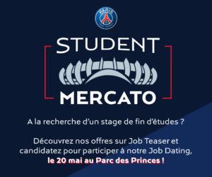 Le PSG «met en scène» sa recherche de futurs stagiaires avec «Student Mercato»
