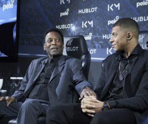 Activation – Quand Hublot réunit Pelé et Mbappé à Paris