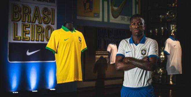 Nike présente 2 nouveaux maillots du Brésil pour la Copa America 2019
