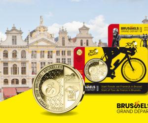 Une pièce de 2,5€ pour le Grand Départ du Tour de France 2019 à Bruxelles